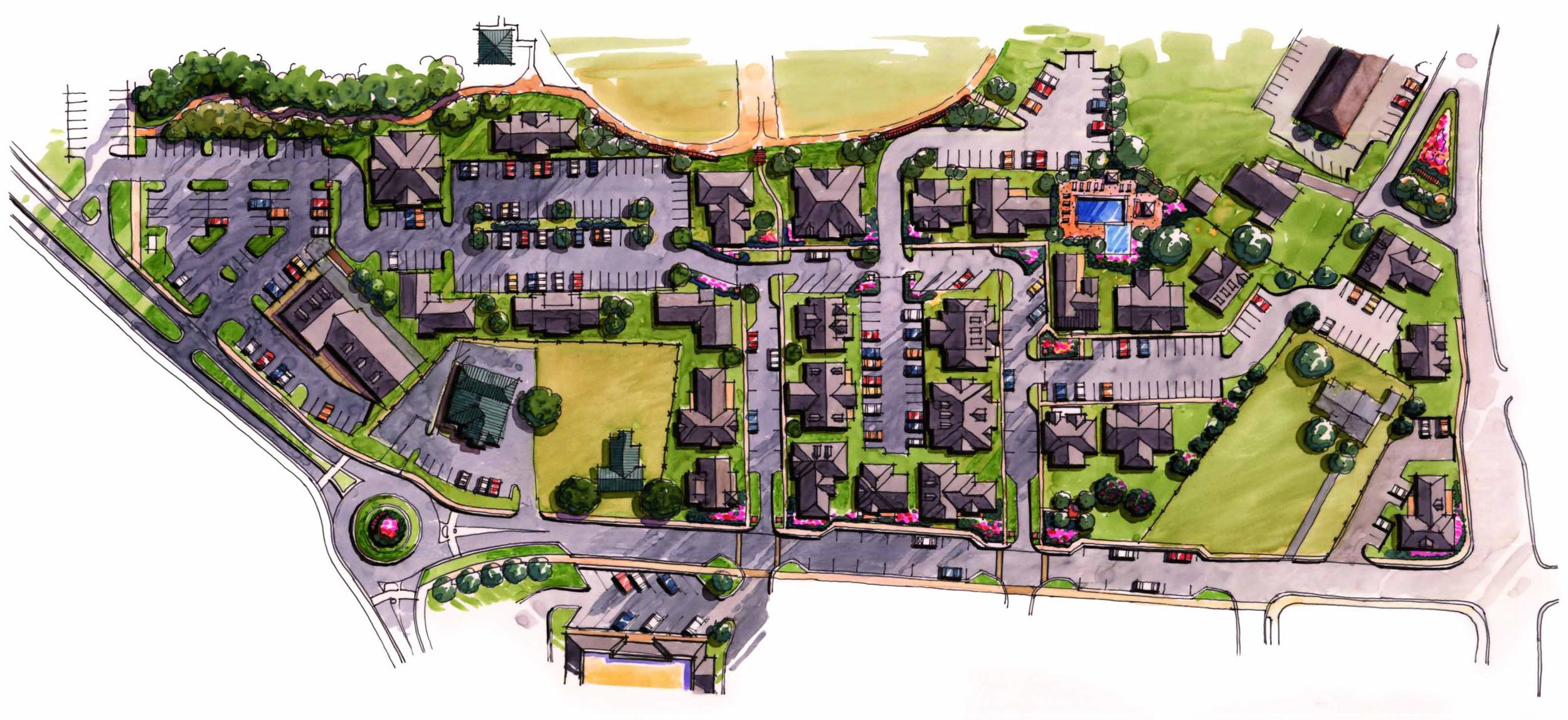 Dallas & Main Site Plan