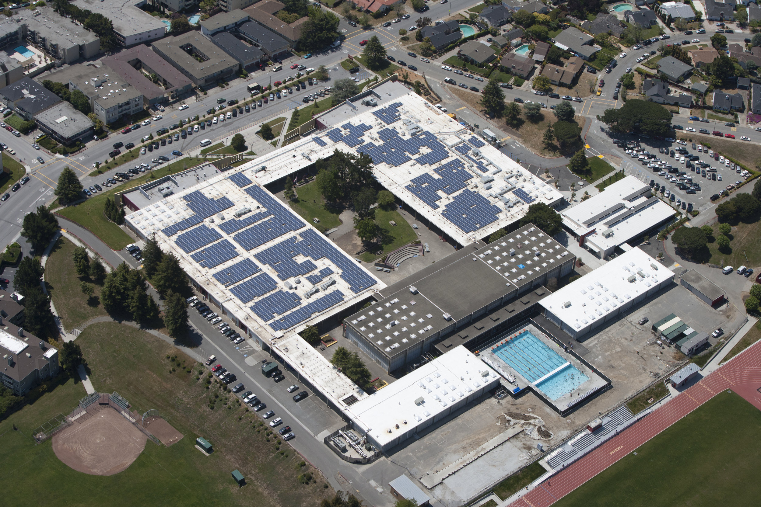 San Mateo UHSD Solar PV and Efficiency