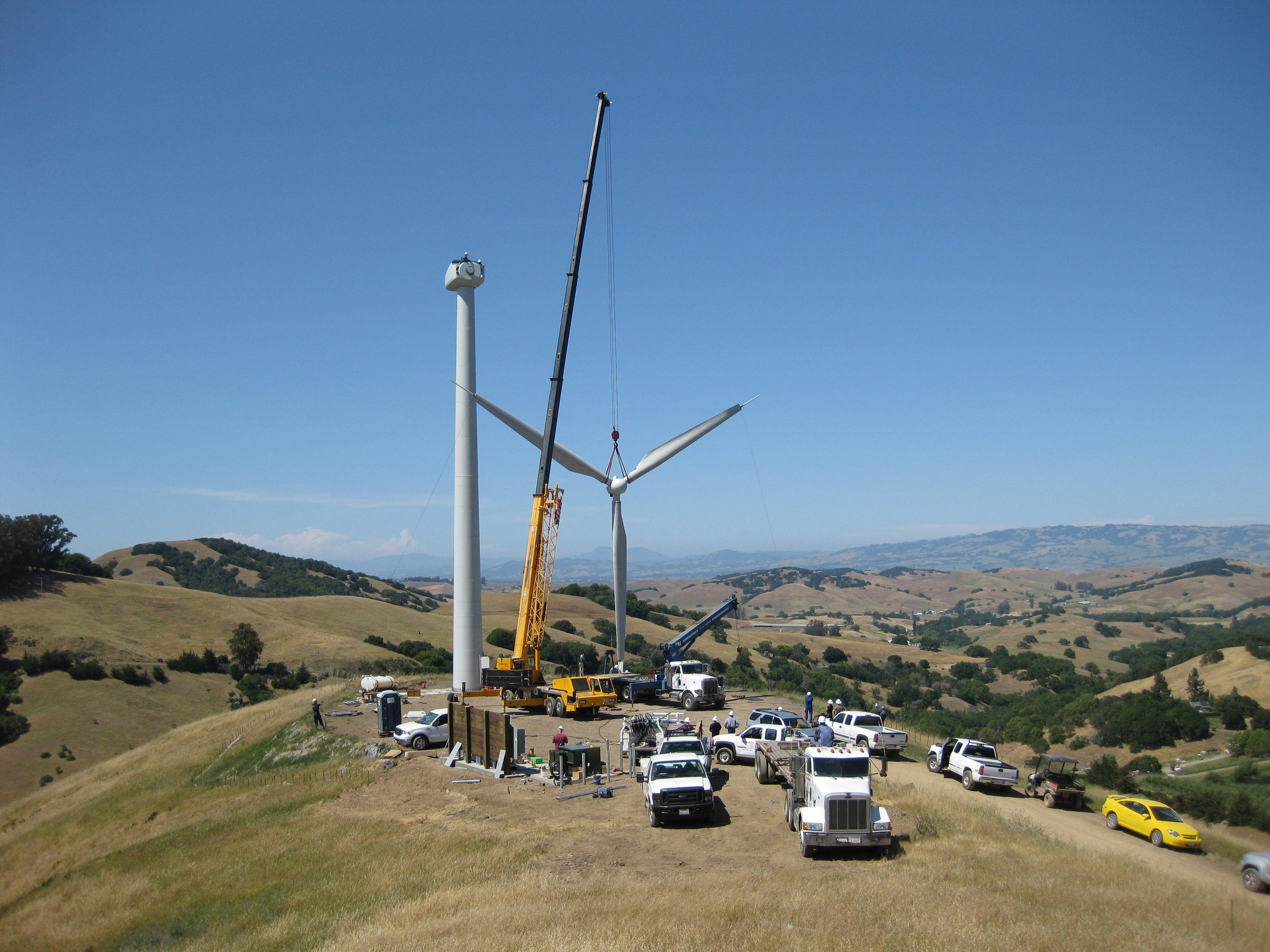 McEvoy Olive Ranch Wind Turbine