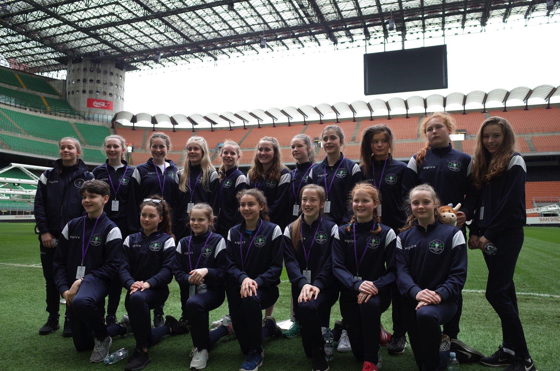 Boroughmuir FC San Siro trip