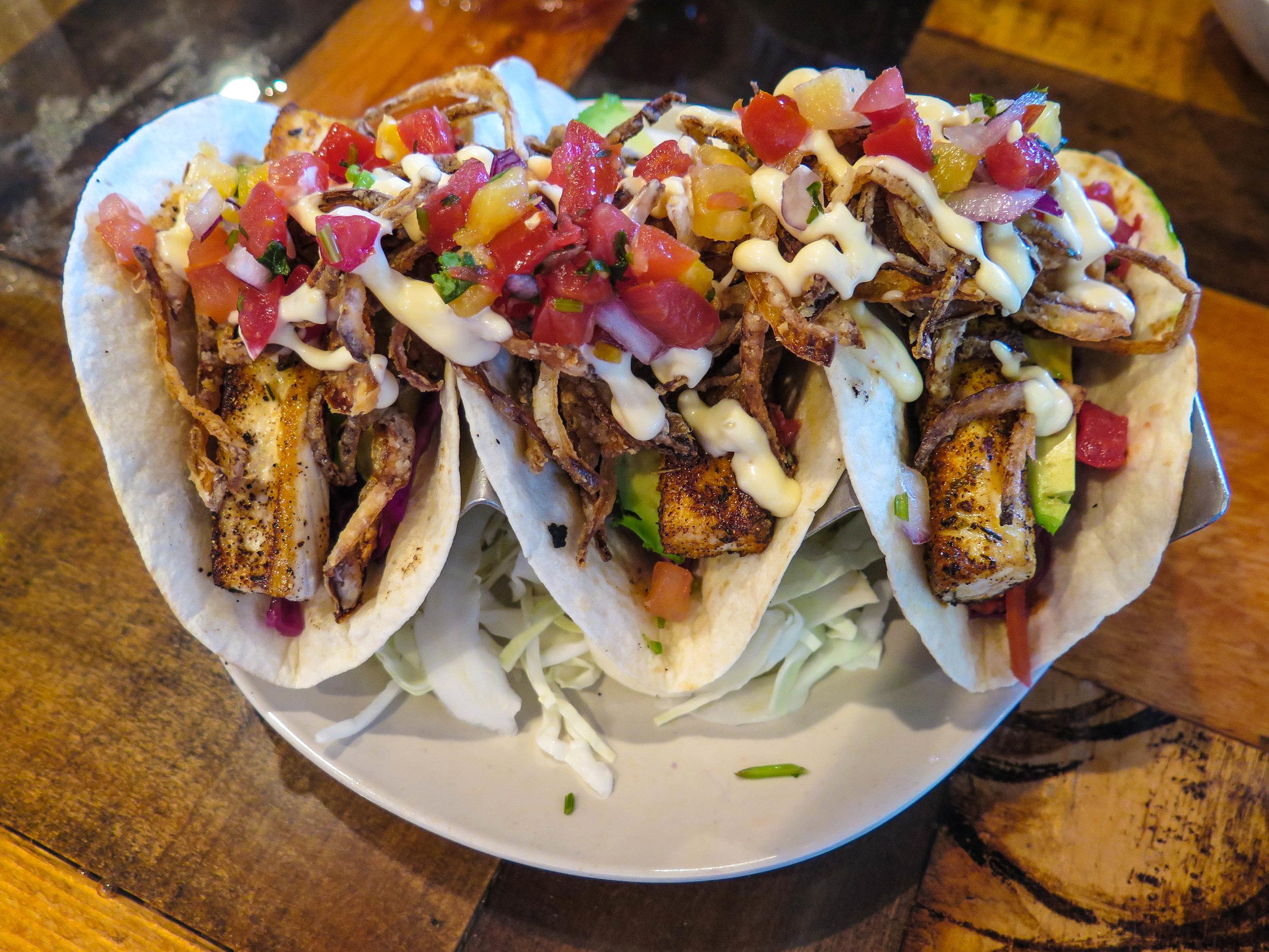 Legendary fish tacos