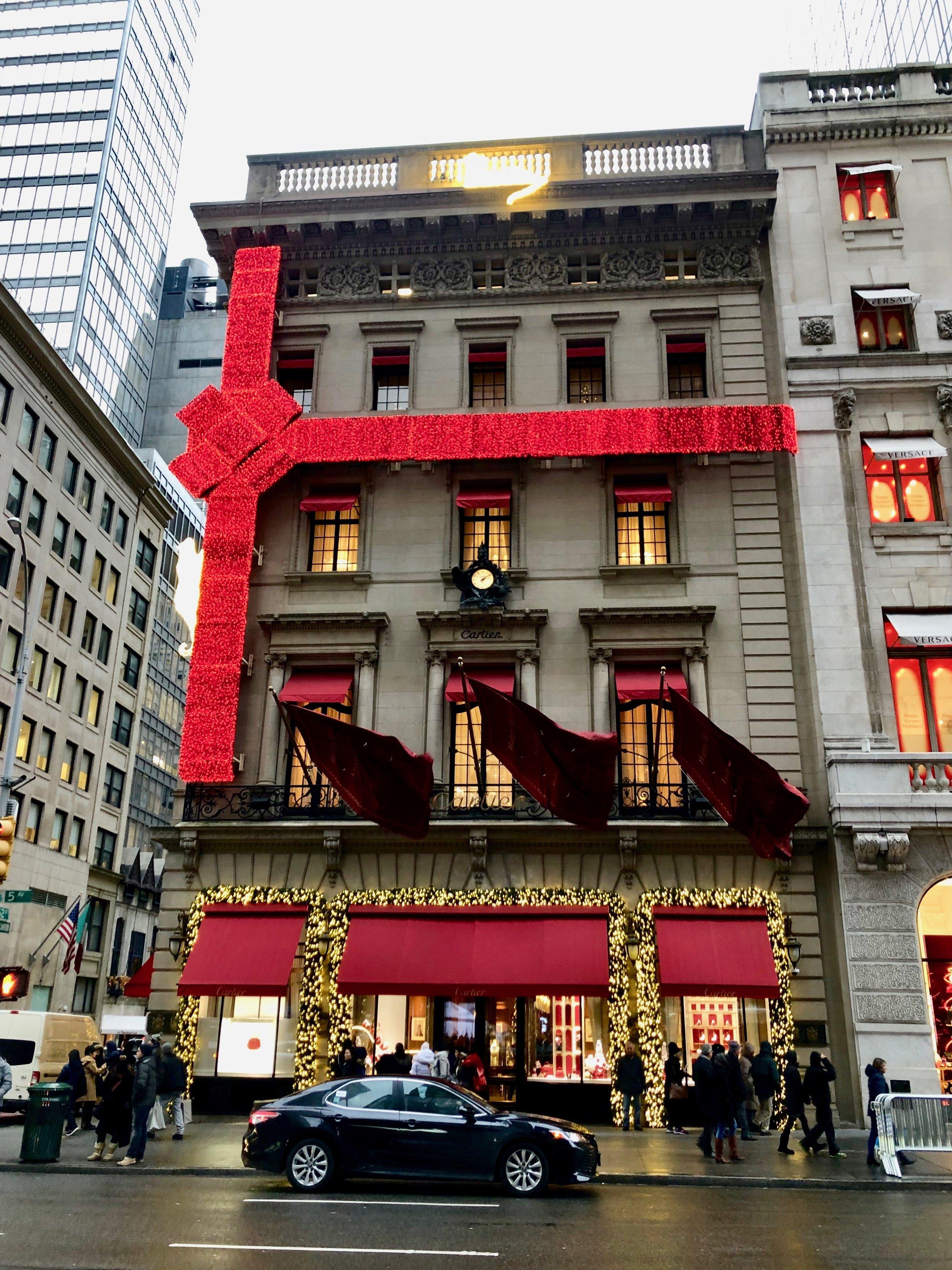 Cartier shop display