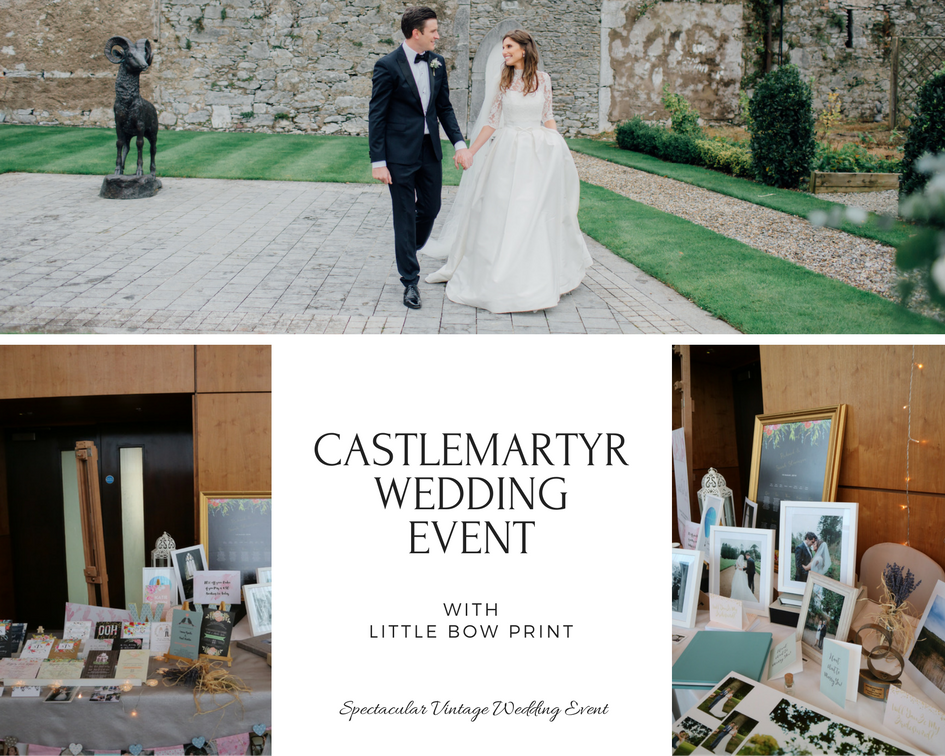 Spectacular Vintage Wedding Event at Castlemartyr and Little Bow Print
