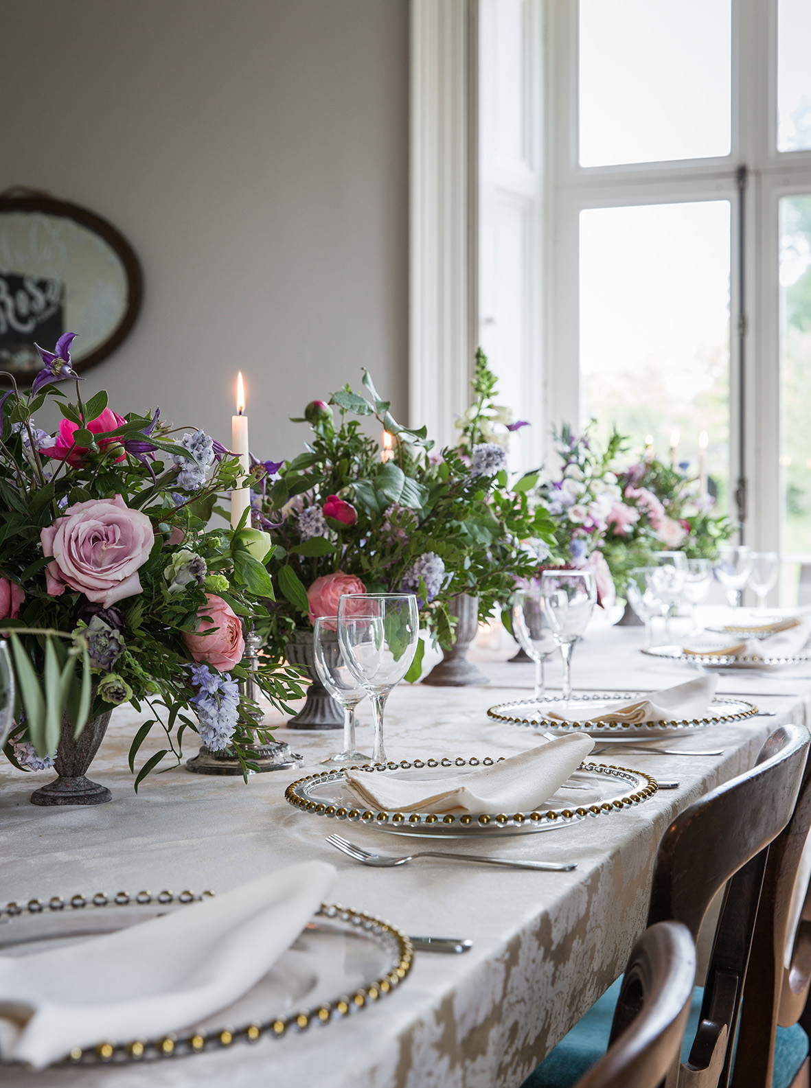 Private Dining Arrangements and Styling