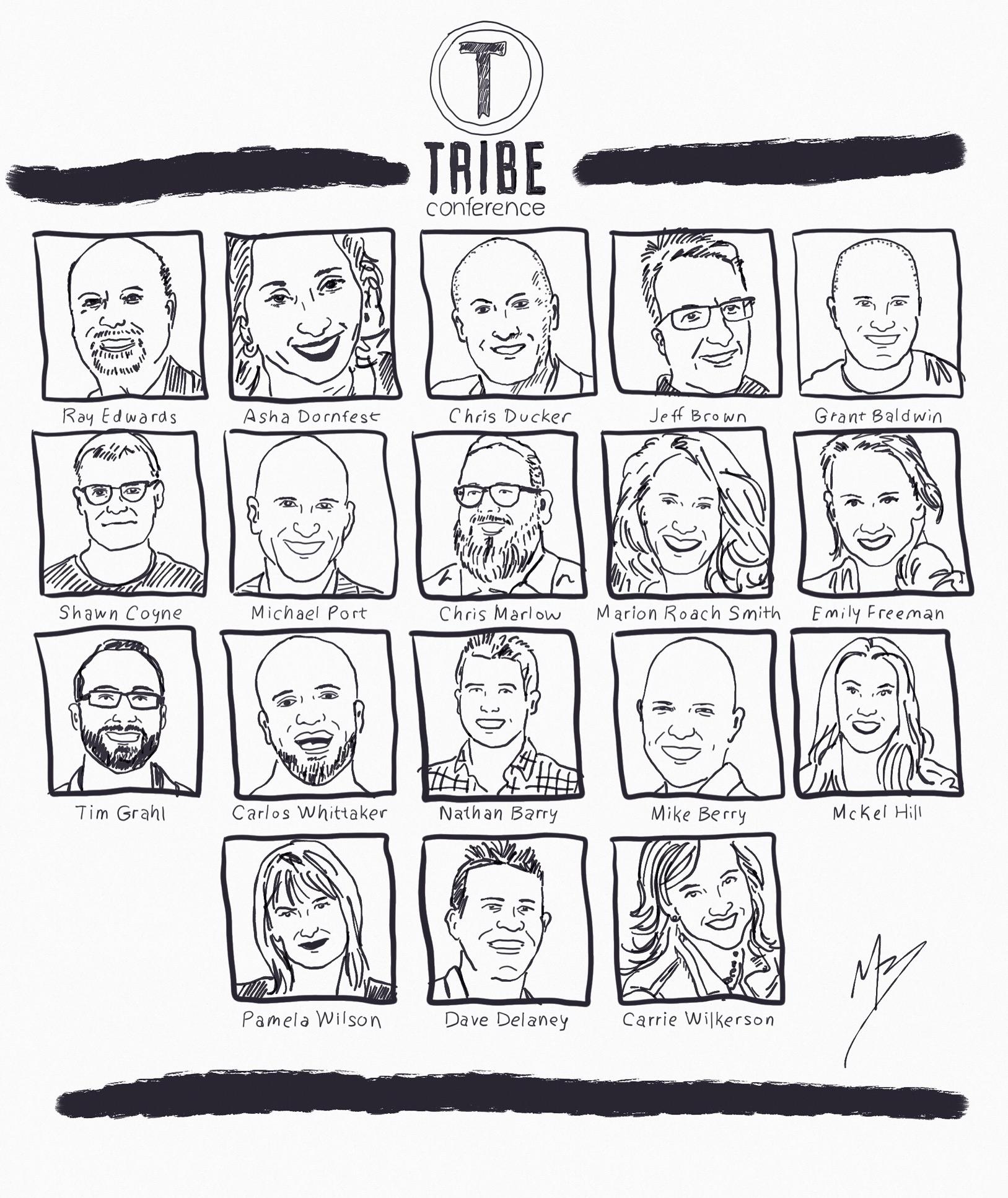 Tribe Conference Speaker Line up