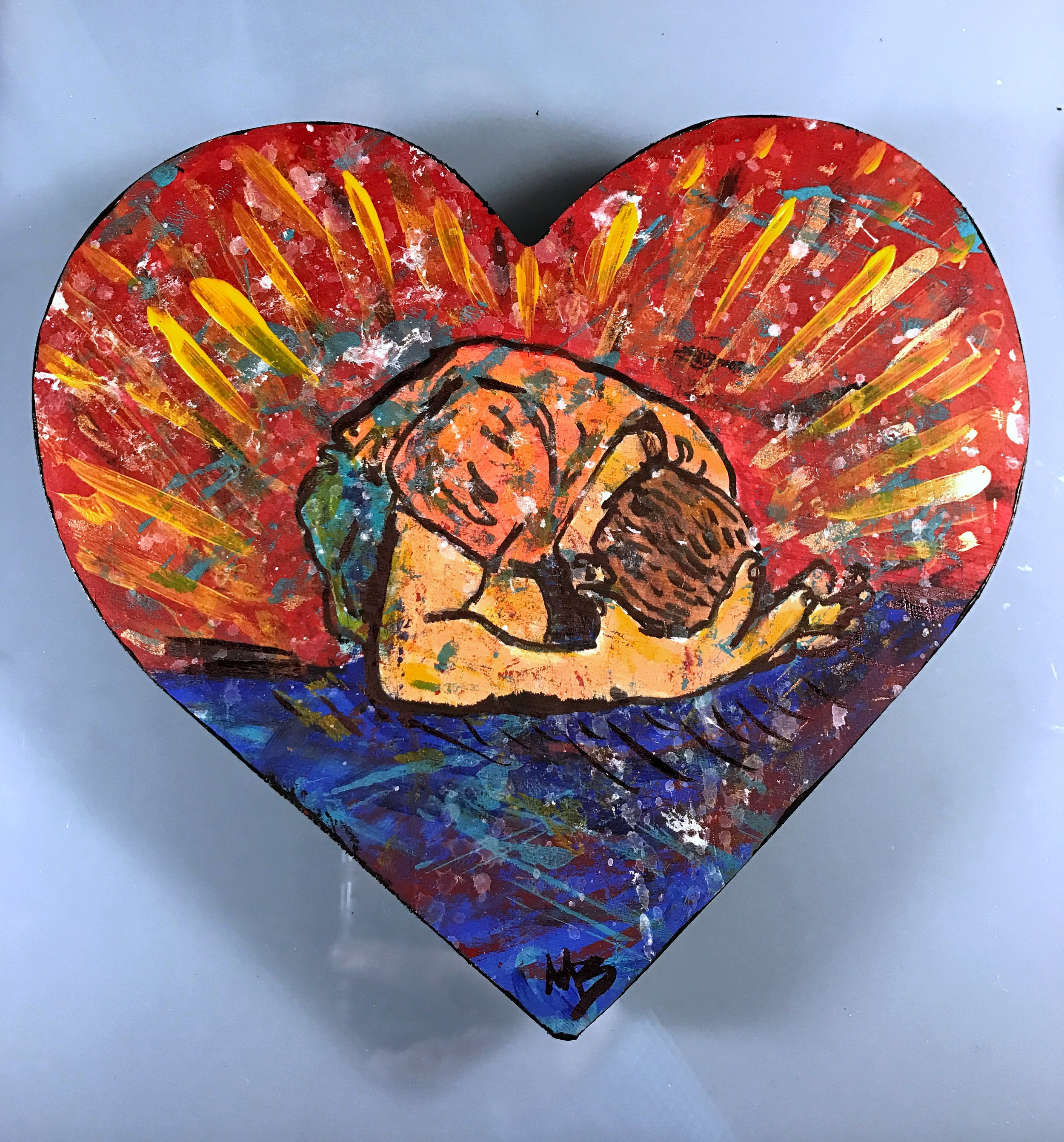 Heart Art Worship Surrender