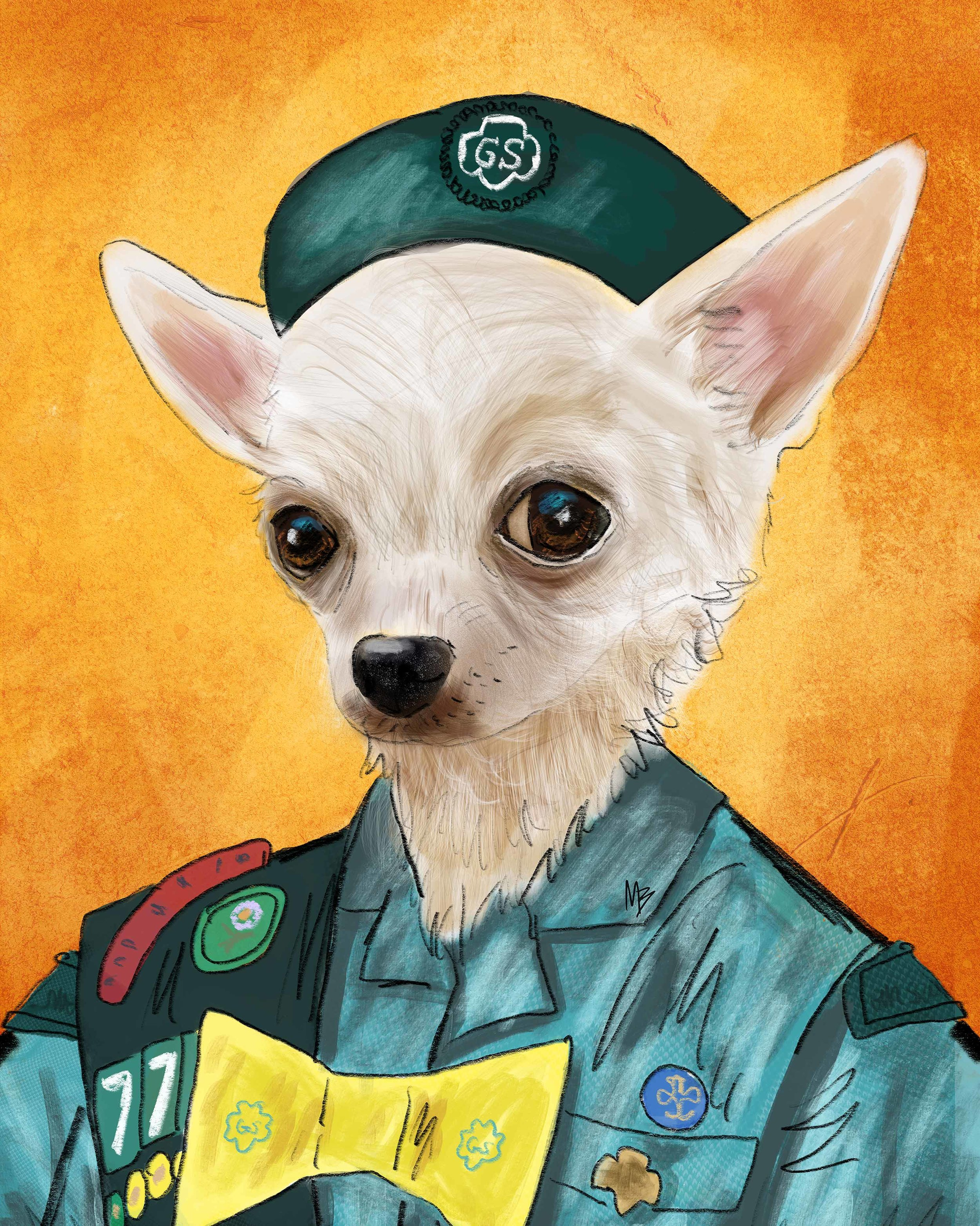 Girl Scout Chihuahua