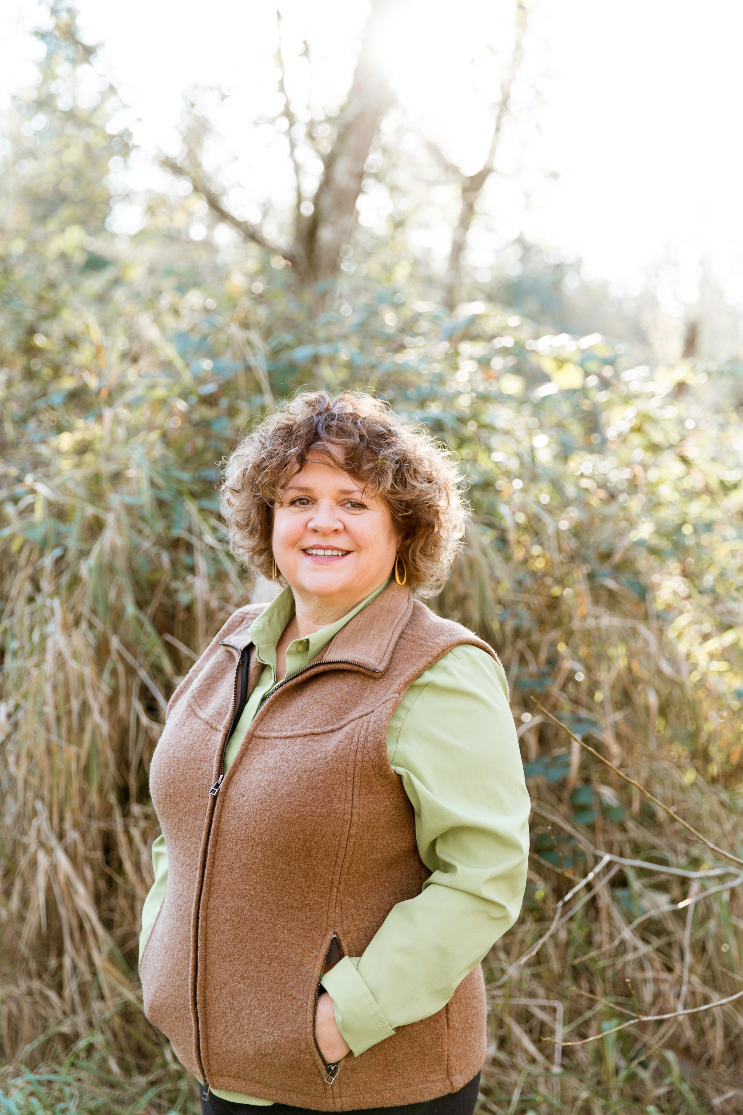 Brenda - Butterfly - Lead Instructor - The Lead Instructor, Brenda Running, is a certified Forest School Teacher, a Native Plant Steward with the Washington Native Plant Society and a Master Naturalist. She's also been trained in Outdoor Leadership with Washington Trails Association and the Art of Mentoring Children in Nature at Wilderness Awareness School. She has 13 years of experience working with children in outdoor educational settings . She is Wilderness First Aid certified, in addition to Adults and Pediatric First Aid/CPR/AED for Adults & Pediatric.Brenda is a member of the National Association for the Education of Young Children. Her background includes literacy intervention, working with children with special needs as well as a Family Advocate.