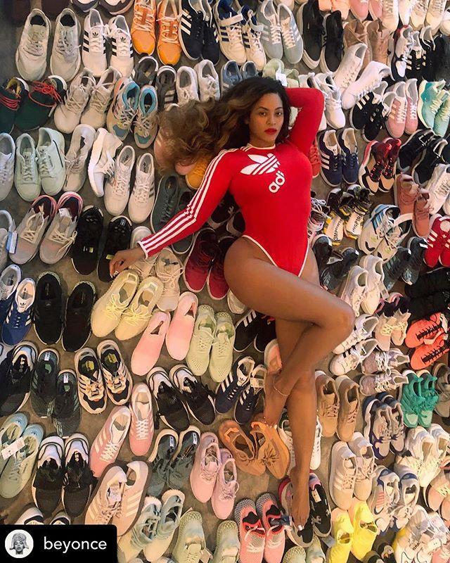 THE QUEEN @beyonce #adidasOriginalsbyJiWonChoi