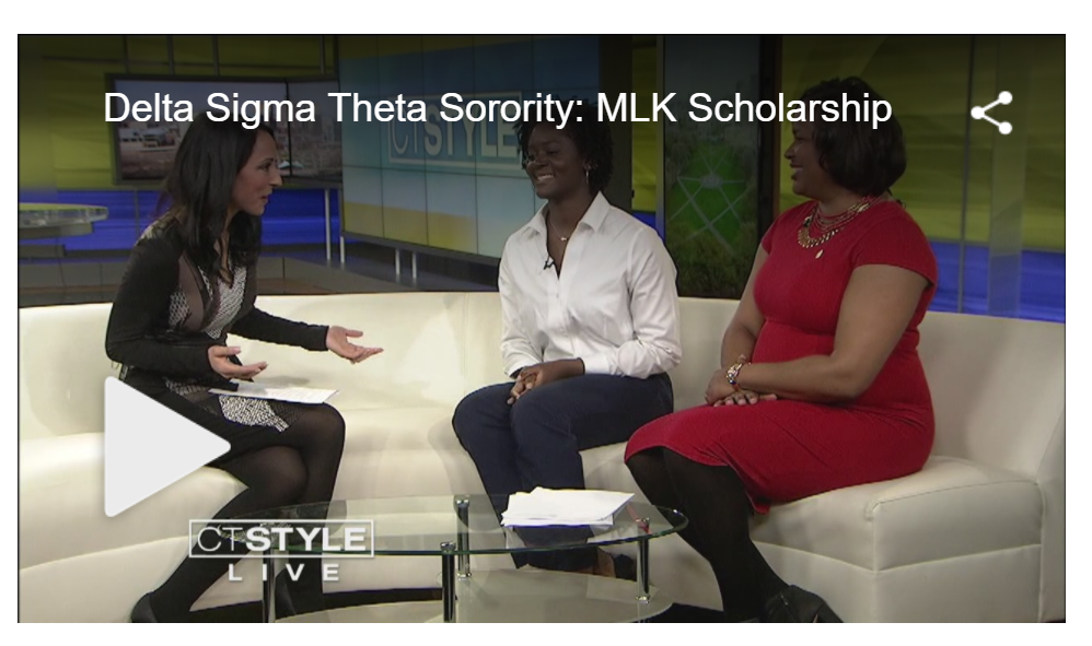 The Hartford Alumnae Chapter of Delta Sigma Theta Sorority, Inc. featured on CT Style TV in 2017
