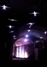 perpetual light in the old vic tunnels