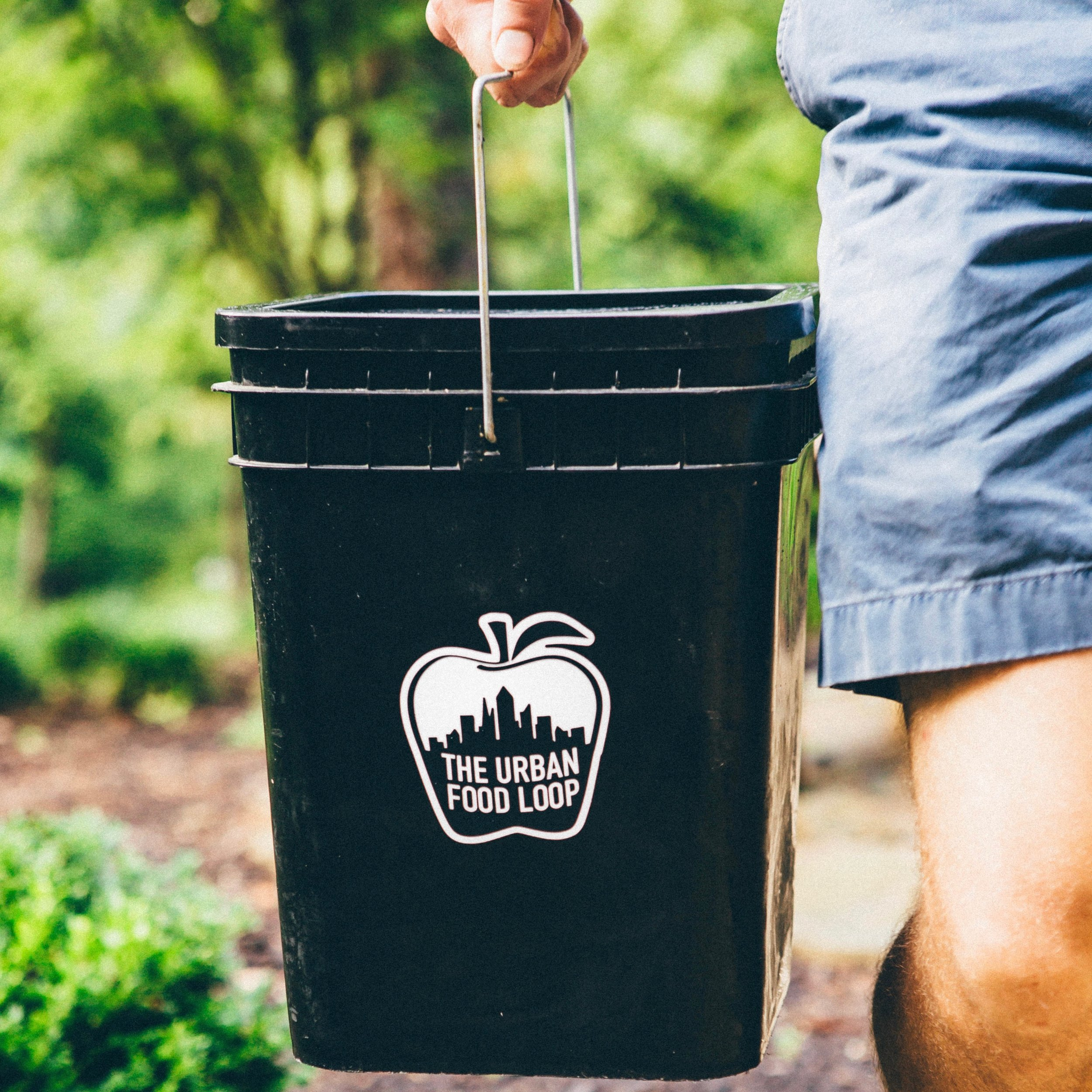 1. sign up   - Our team will deliver a countertop compost container and up to two outdoor composting bins.