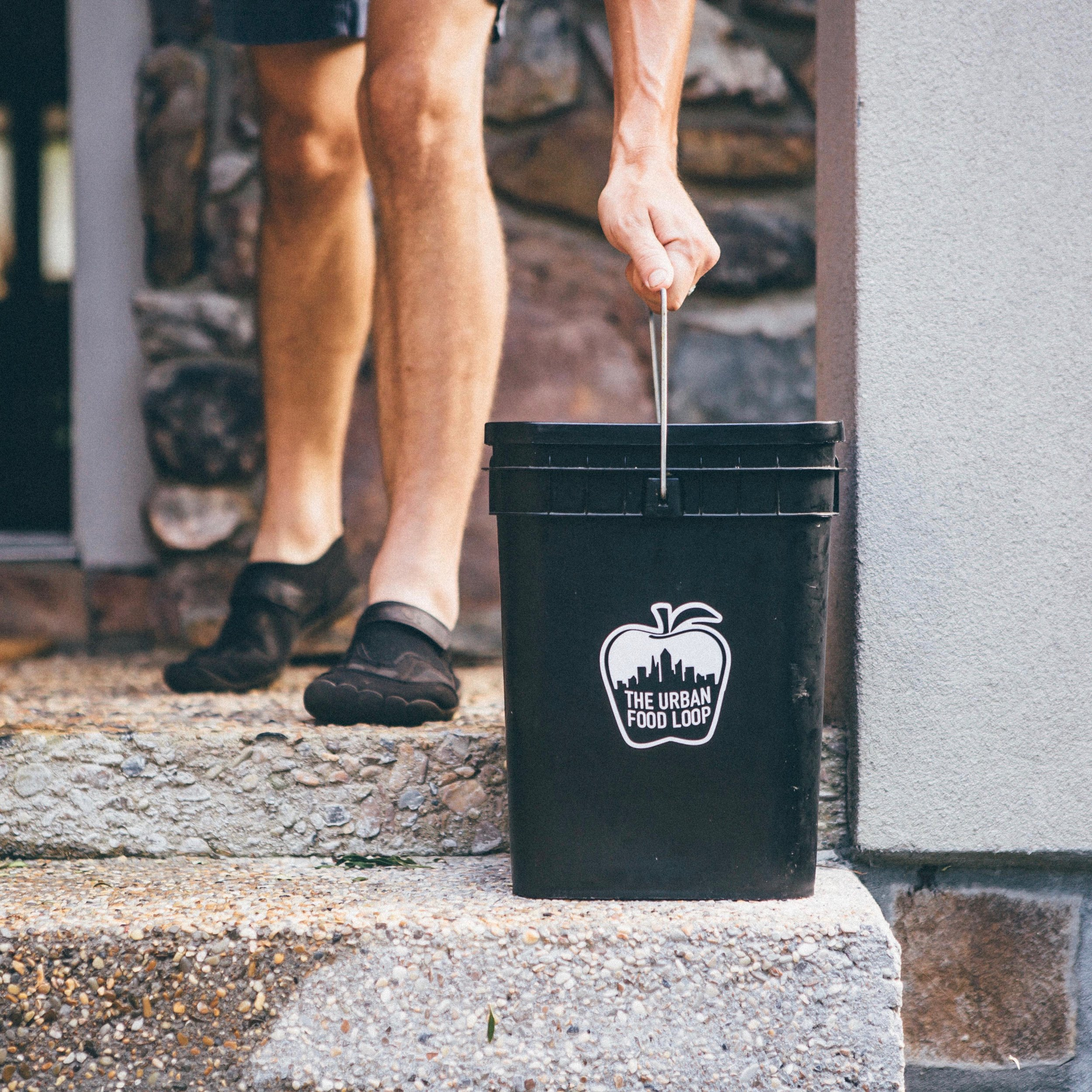 3. set it out - Set your outdoor bin out on your porch every Tuesday for pickup and let us swap it out for a clean one.