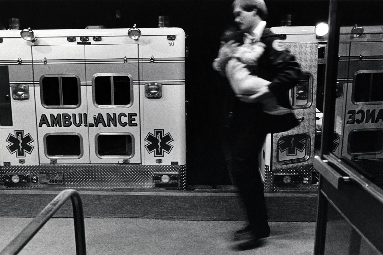 Running child into the ER  Denver General Hospital Denver,CO. 1985