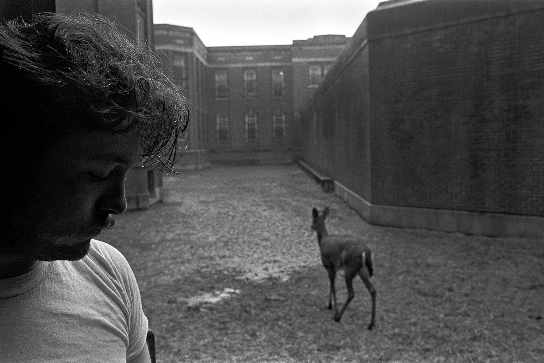 """Killer""  Lima State Hospital for the Criminally Insane Lima,OH. 1981"
