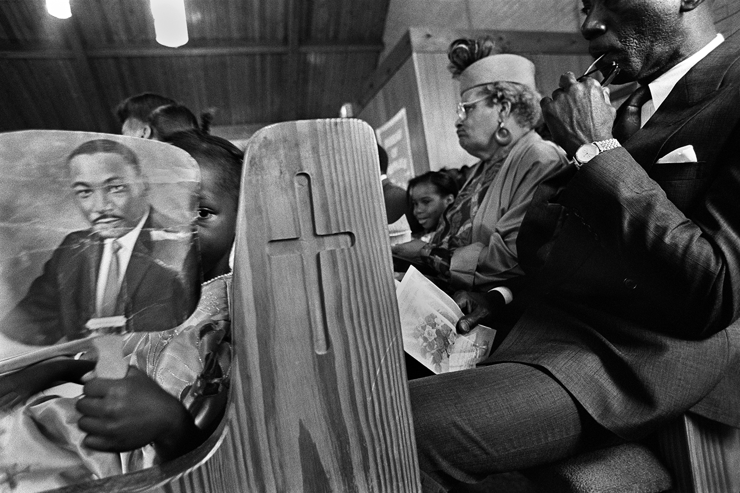 """""""Martin Luther King""""  Wilmington, NC. 1991"""