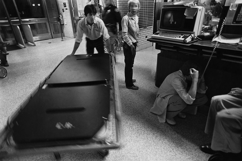 Saturday night  Denver General Hospital Denver, CO. 1982