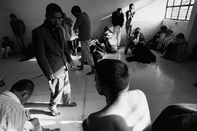 Men's ward  Ocaranza Psychiatric Institute Hidalgo, Mexico 1999
