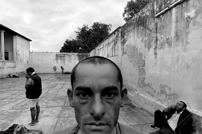 Men's ward for the chronically ill  Neuro-Psychiatric Hospital Asuncion, Paraguay 2005