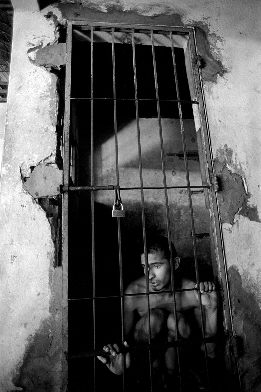 17-year-old Jorge, who has autism  Neuro-Psychiatric Hospital Asuncion, Paraguay 2003