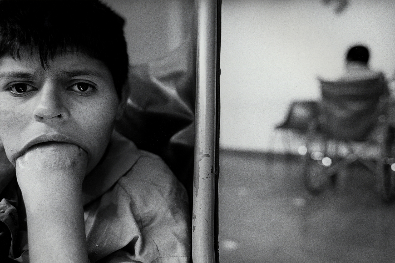 17-year-old girl abandoned at birth  Ocaranza Psychiatric Hospital Hidalgo, Mexico 1999
