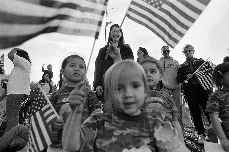 National Guard homecoming  Butler, PA. 2005
