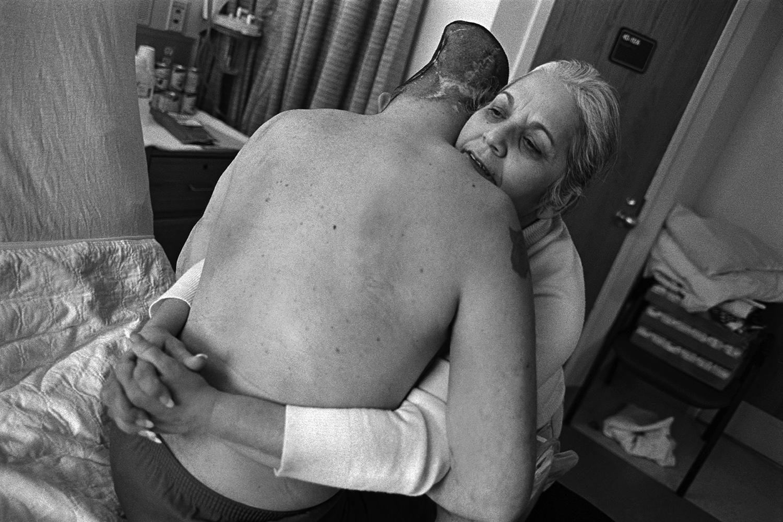 Jose's mother, Nelida Bagley  West Roxbury, MA. 2008