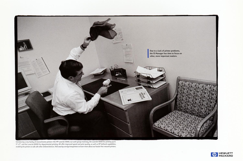 HP LaserJet Campaign  Goodby, Silverstein & Partners, San Francisco 1998