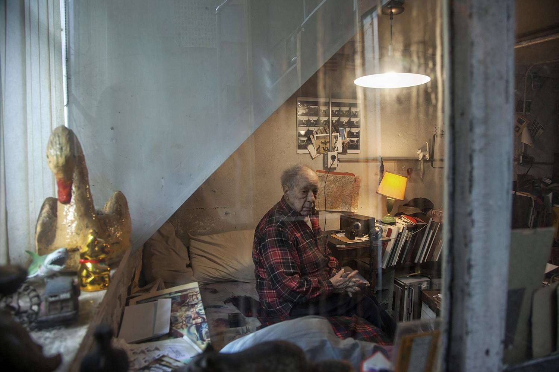 Robert Frank  New York, NY. 2013