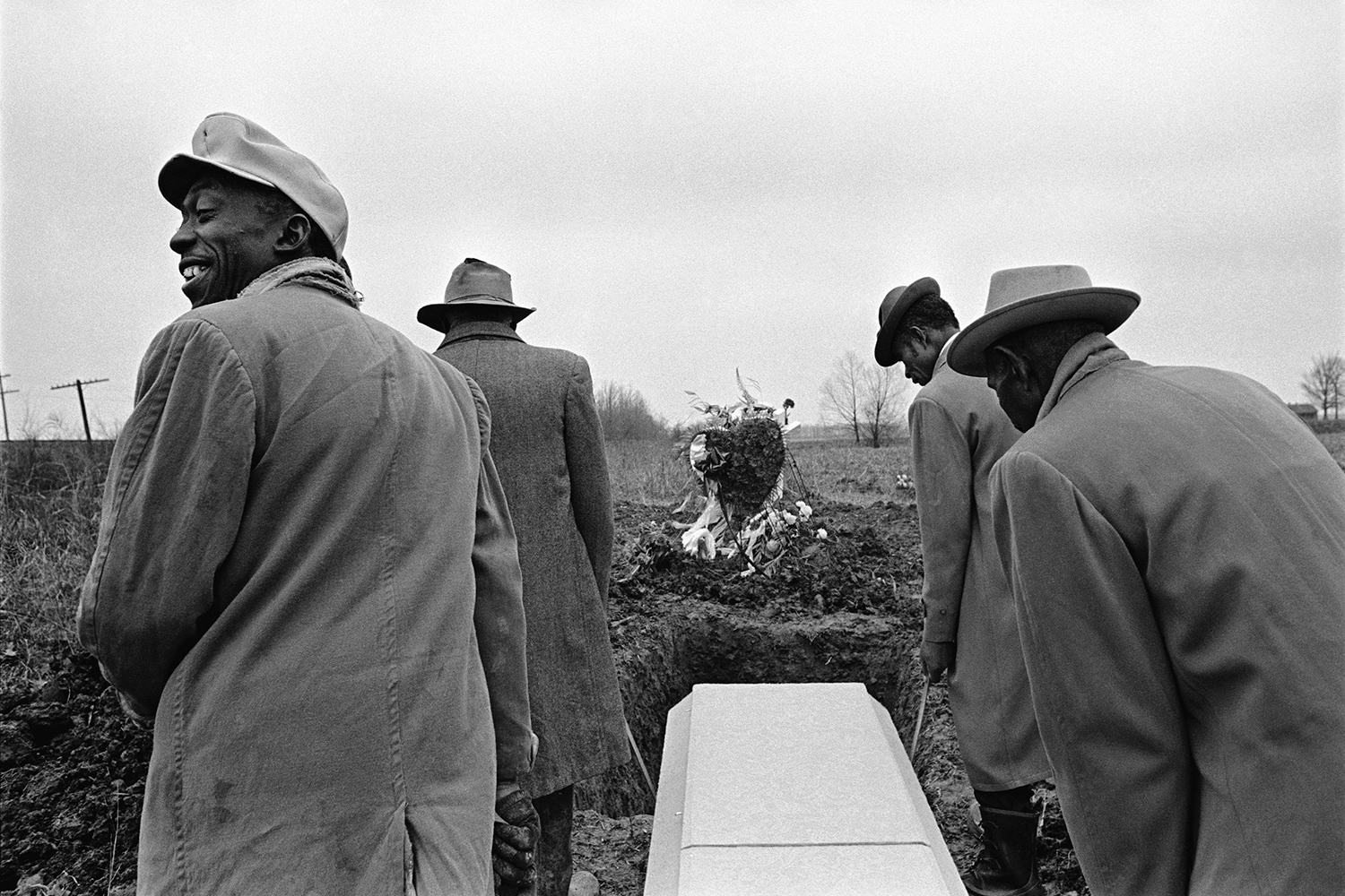 Funeral for Edie Collins  Marion, AR. 1972