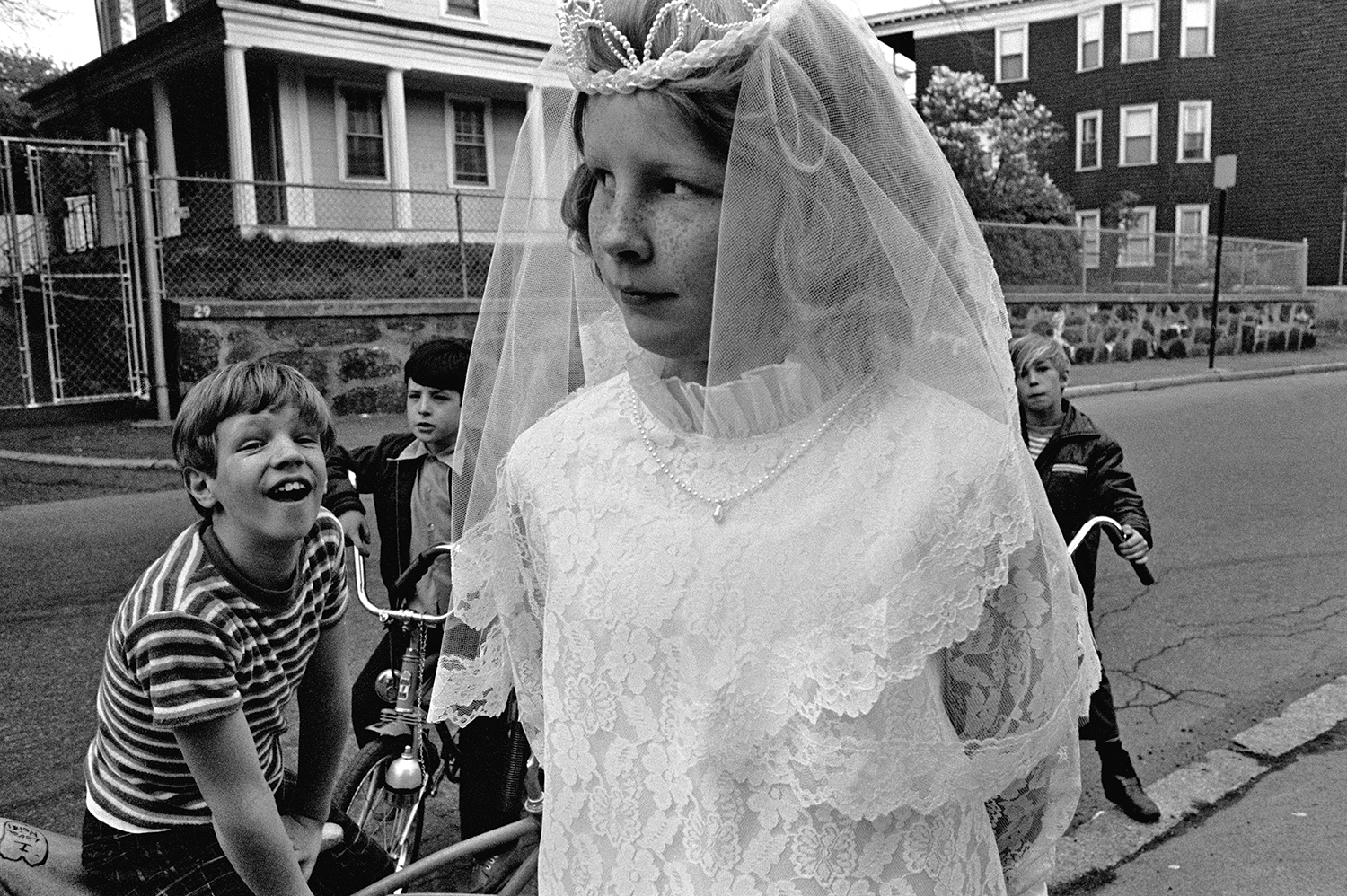First Communion  Dorchester, MA.  1975