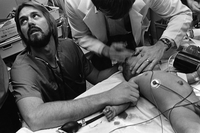 Child with meningitis  Denver General Hospital Denver,CO. 1985