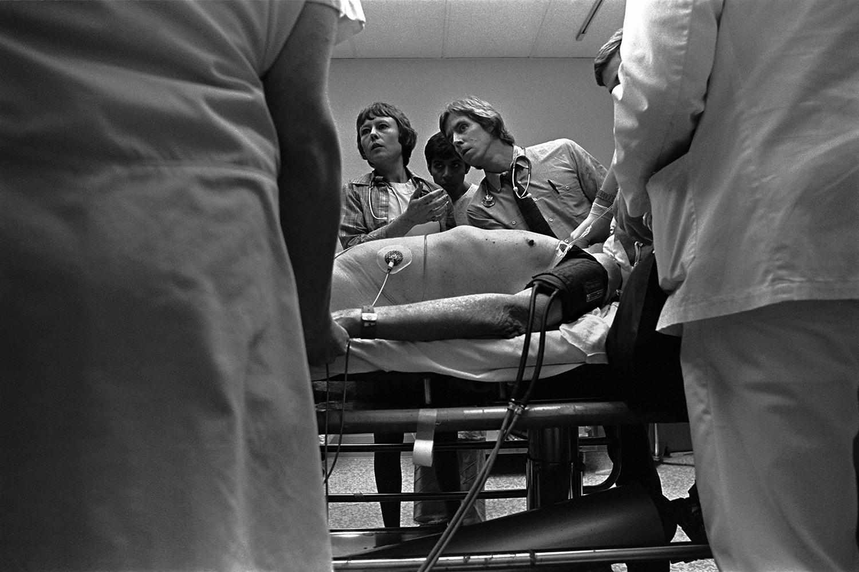 Monitoring life signs  Denver General Hospital Denver, CO. 1981