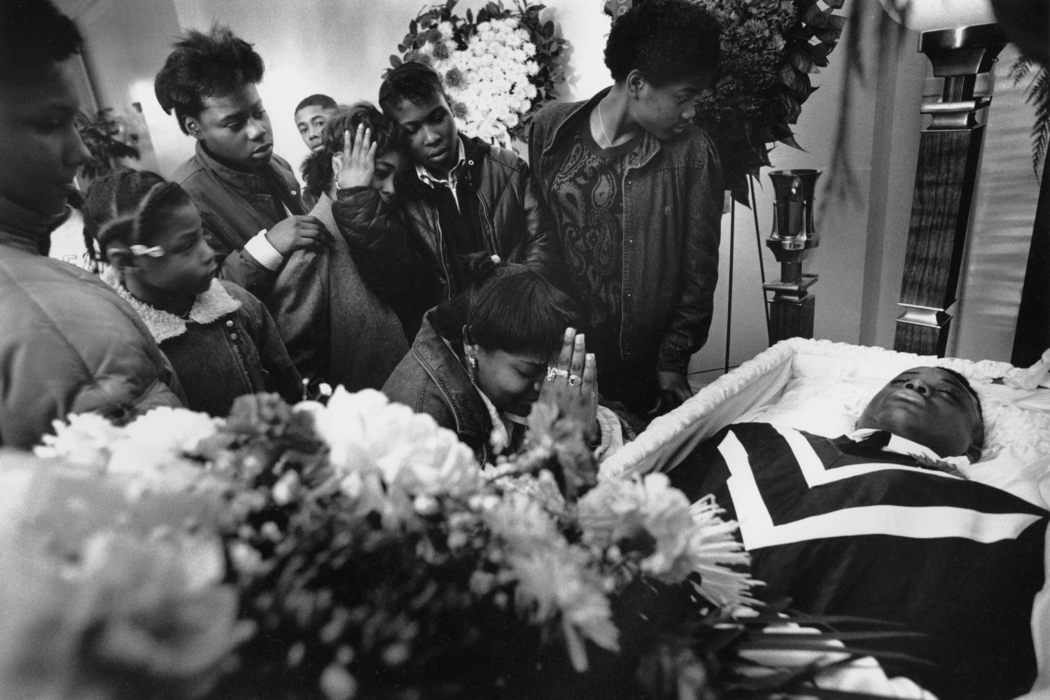 Killed for his coat  Brooklyn, NY. 1988
