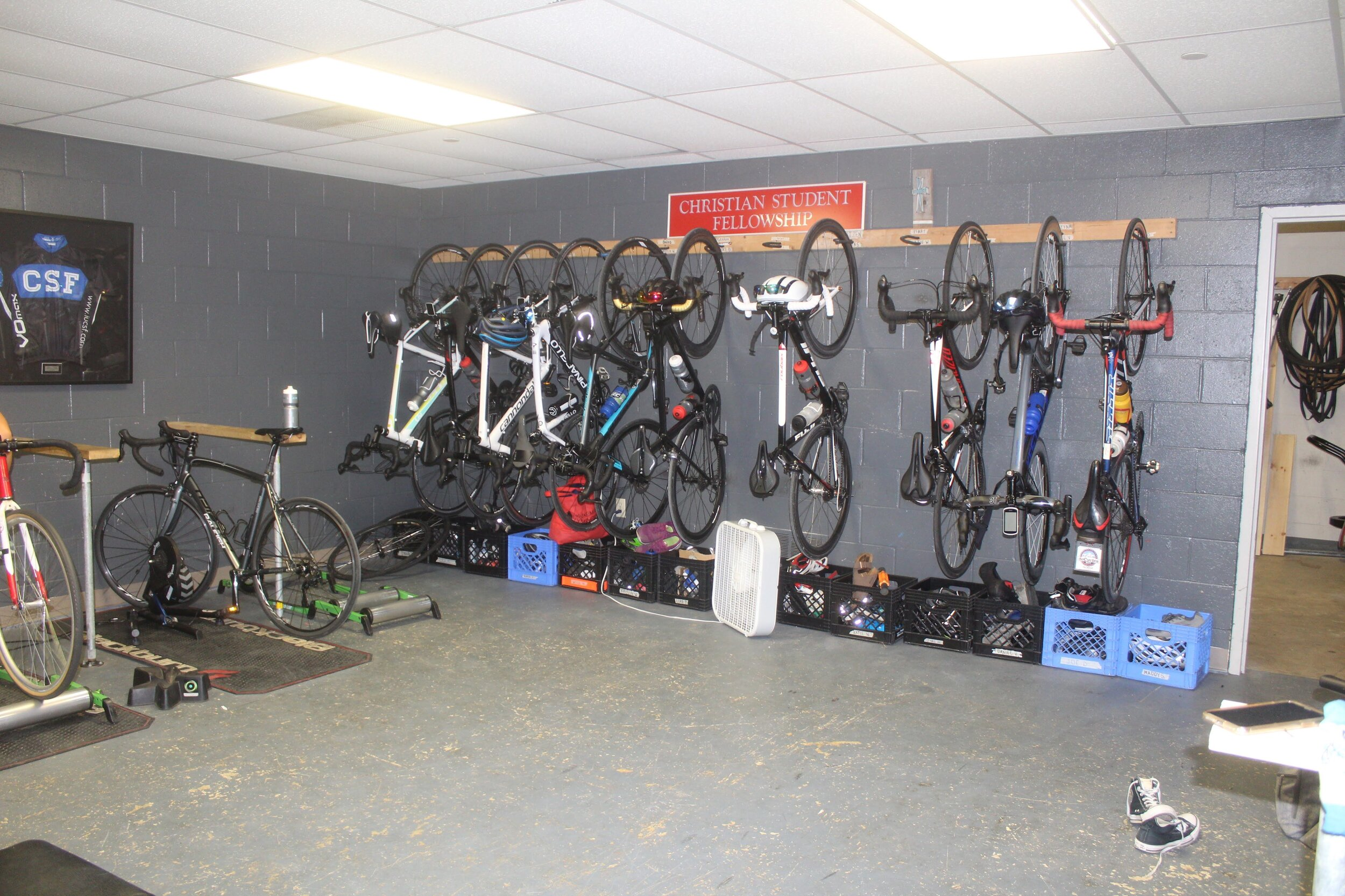 Cycling Team Training Room