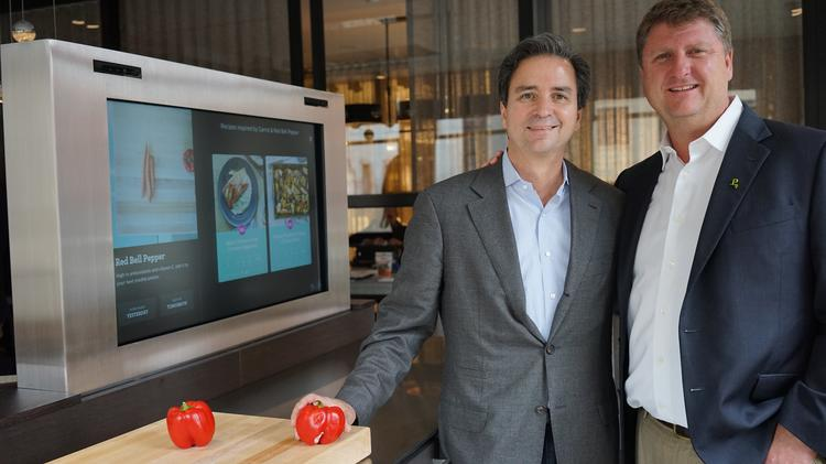 Innit cofounders Eugenio Minvielle and Kevin Brown at Pirch SoHo