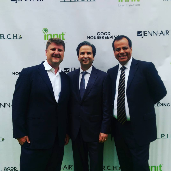 Innit's executive team on the red carpet at Pirch NYC