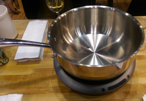 The Hestan Cue Pan and Induction Cooktop
