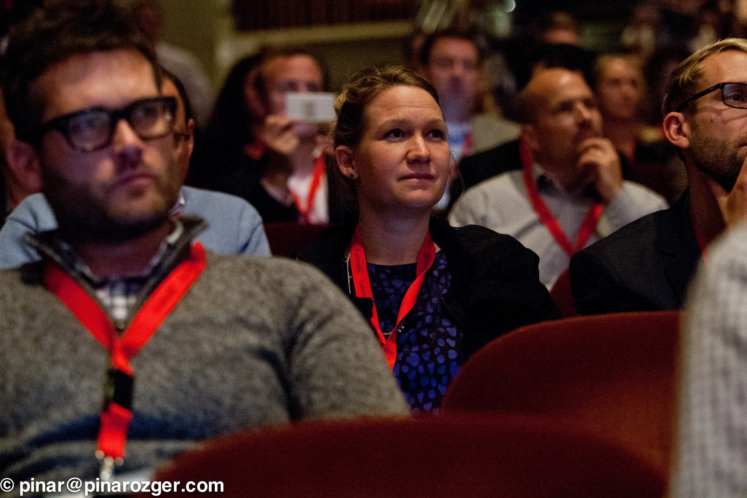 Members of the audience listening to an SKS16 session
