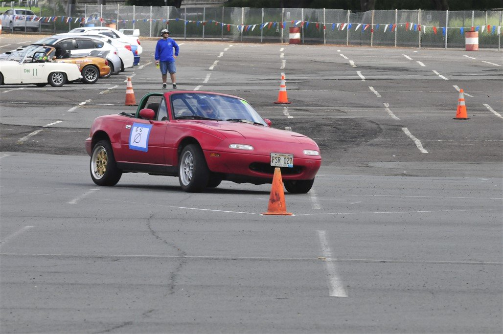 Stock Miata doing its thing! Picture by Howard Shek.