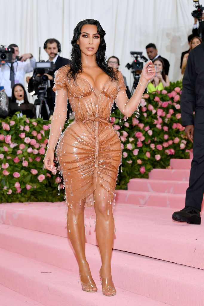Kim Kardashian-West in Mugler