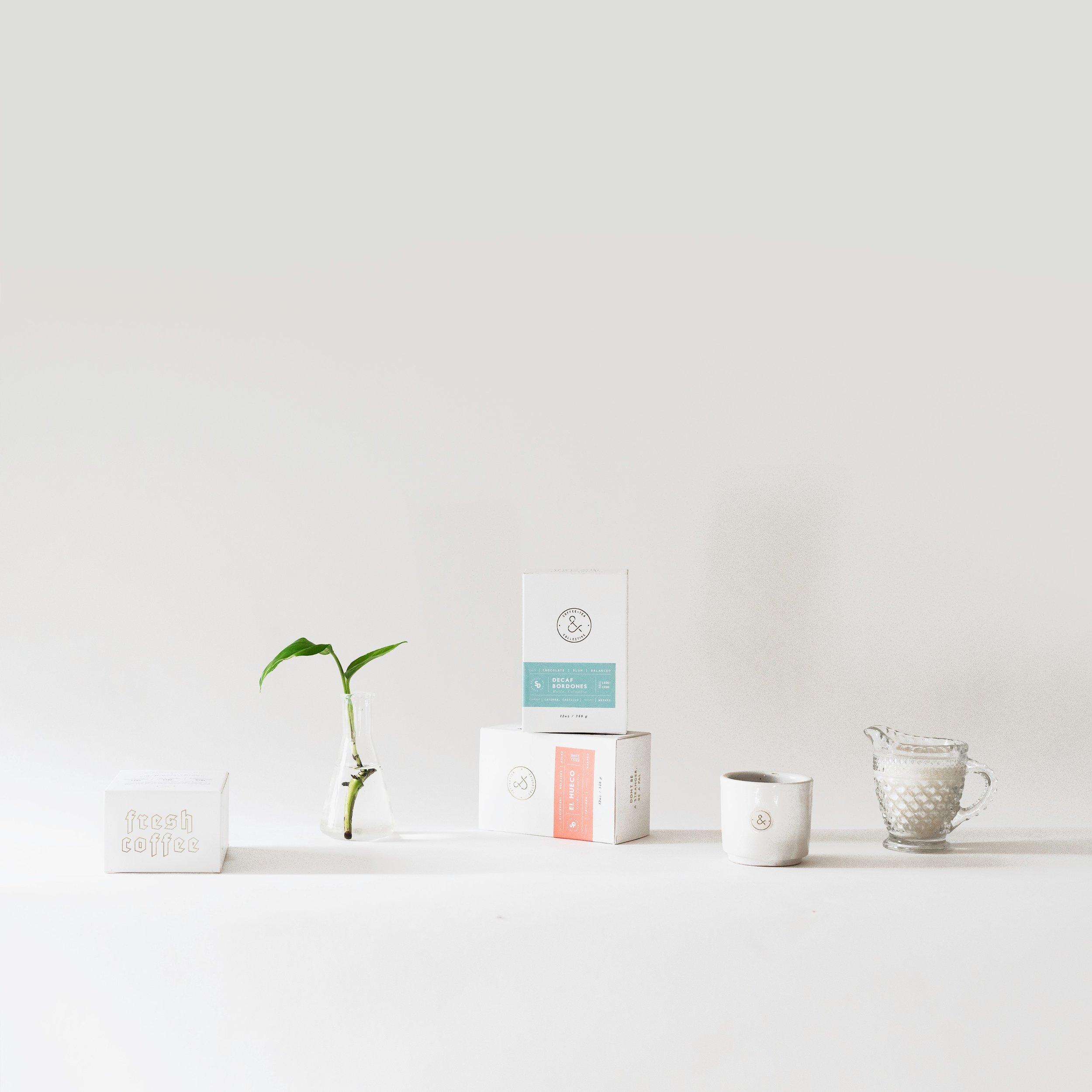 packaging design coffee minimal modern branding studio creative san diego