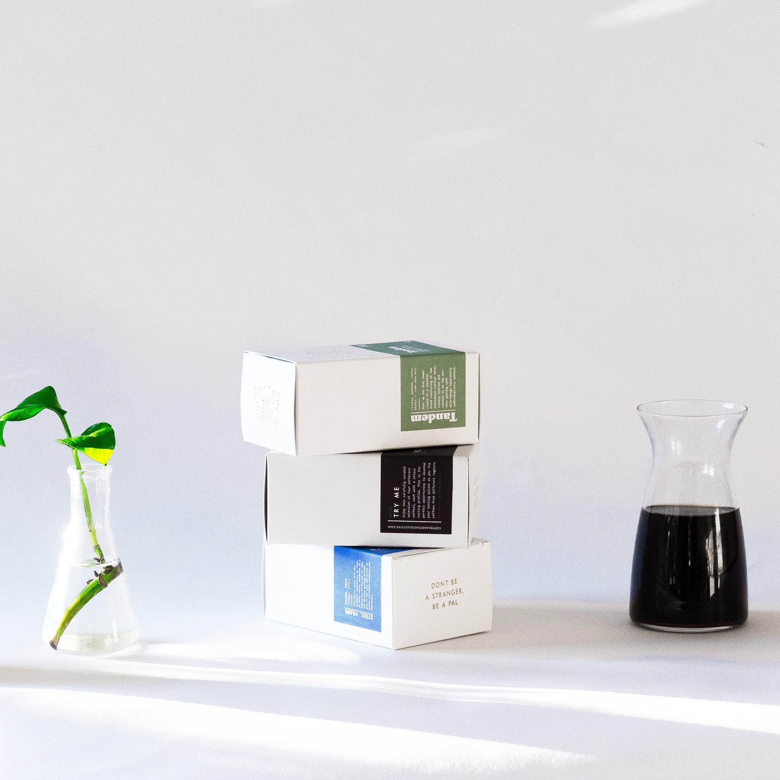 packaging designers coffee box branding San Diego creative