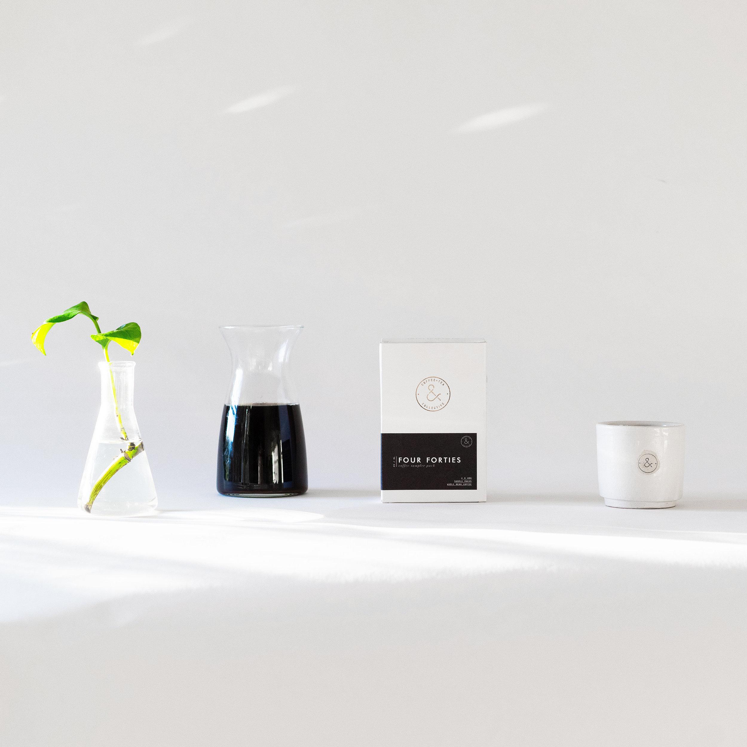 coffee box design packaging minimal modern monochrome