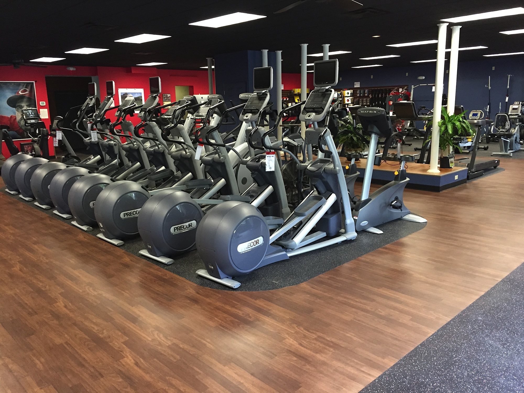 Commercial Cardio, Strength, and Fitness Accessories