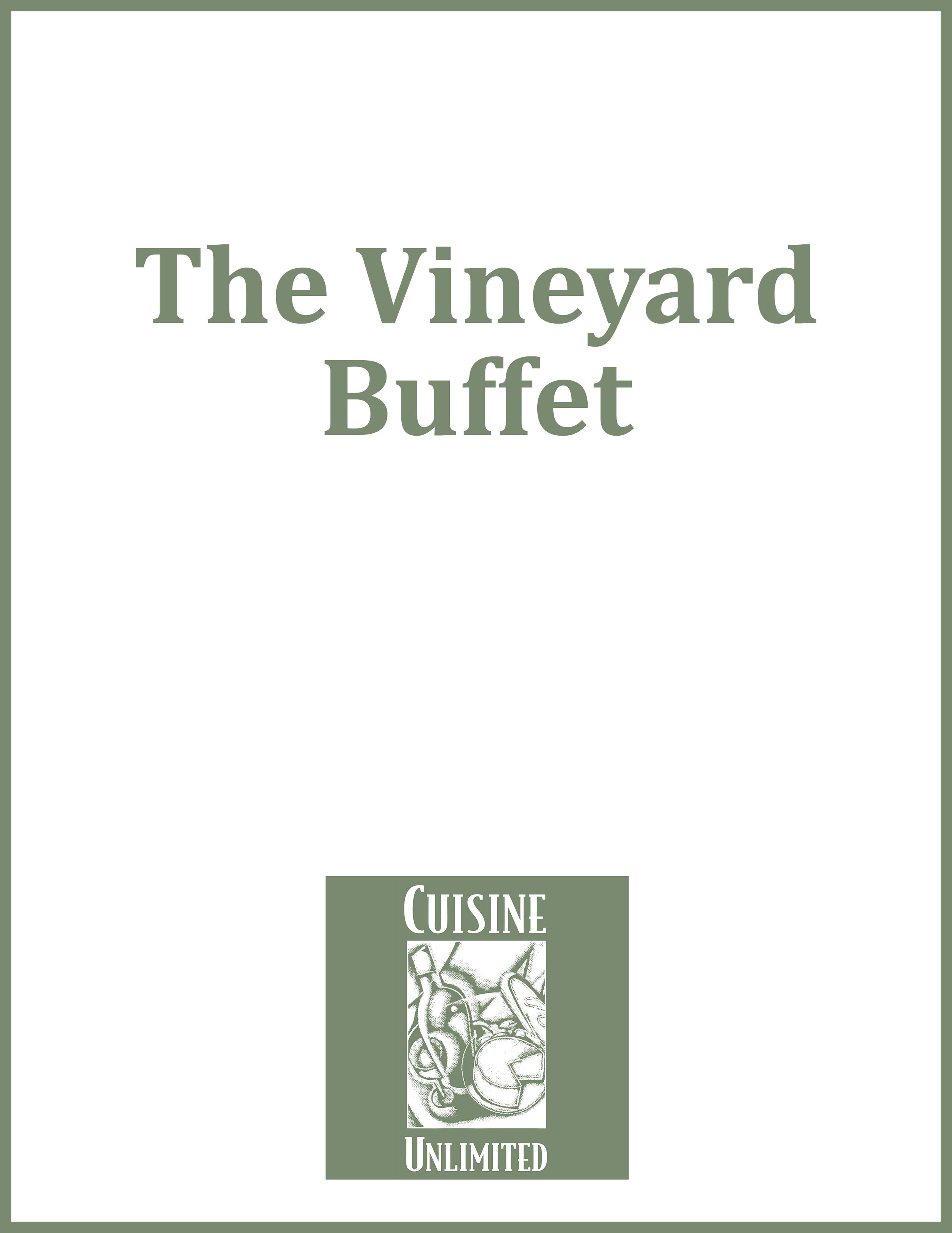 The Vineyard Buffet