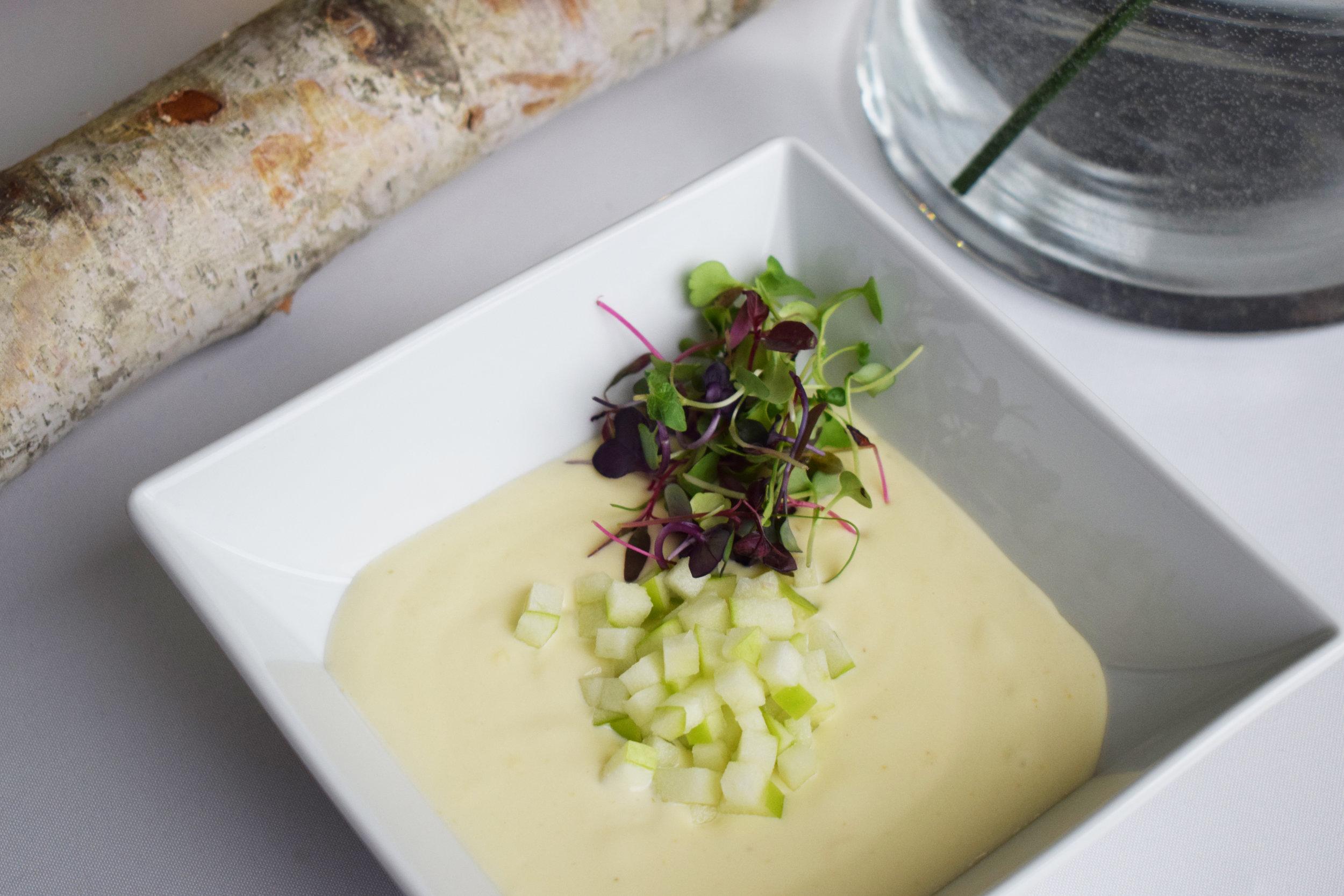 Cream of Brie Soup