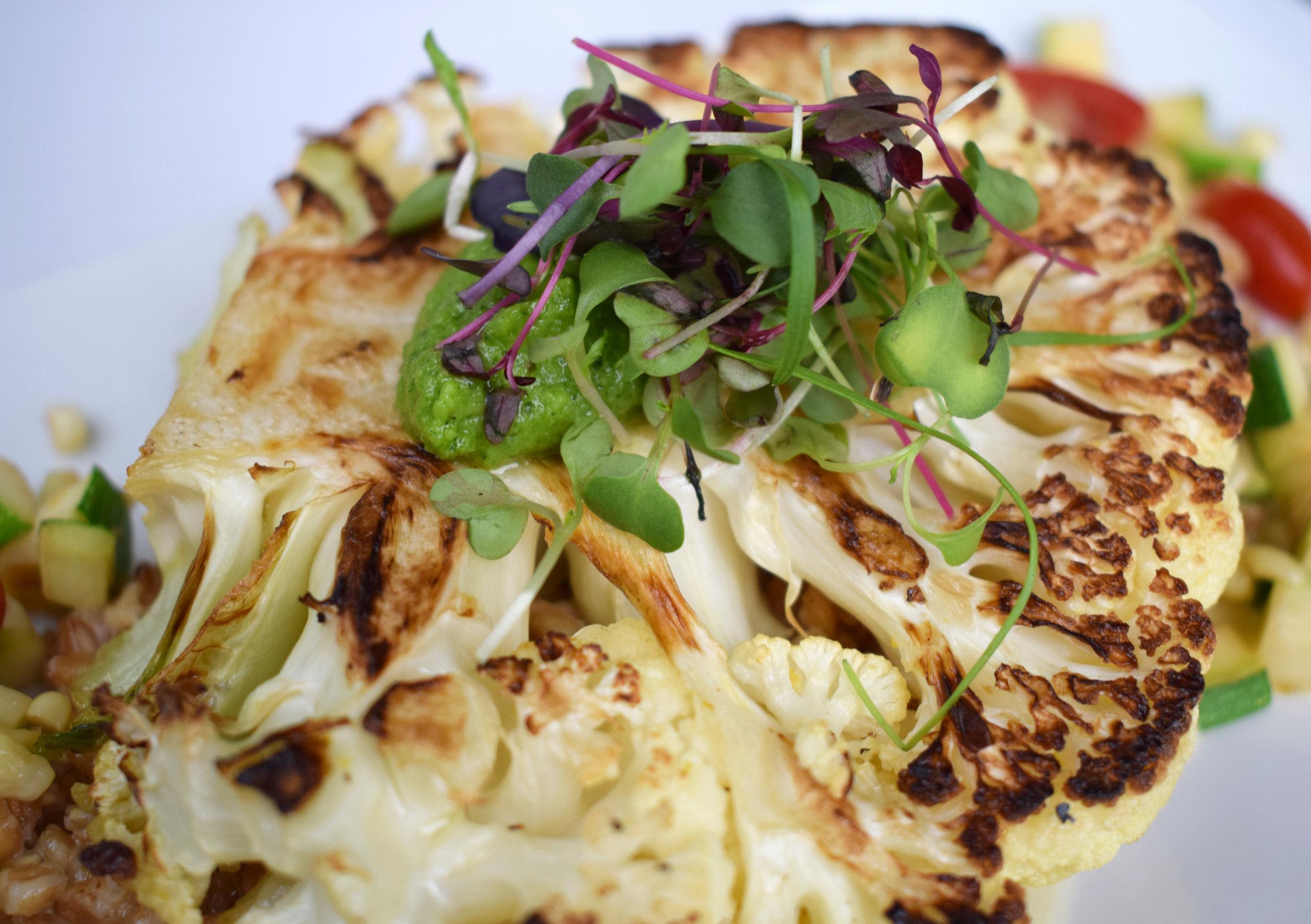 Herb-Grilled Cauliflower