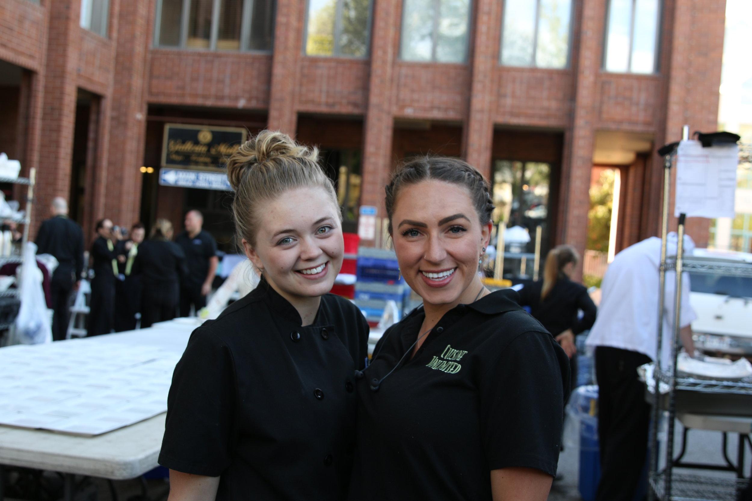 Smiling Staff