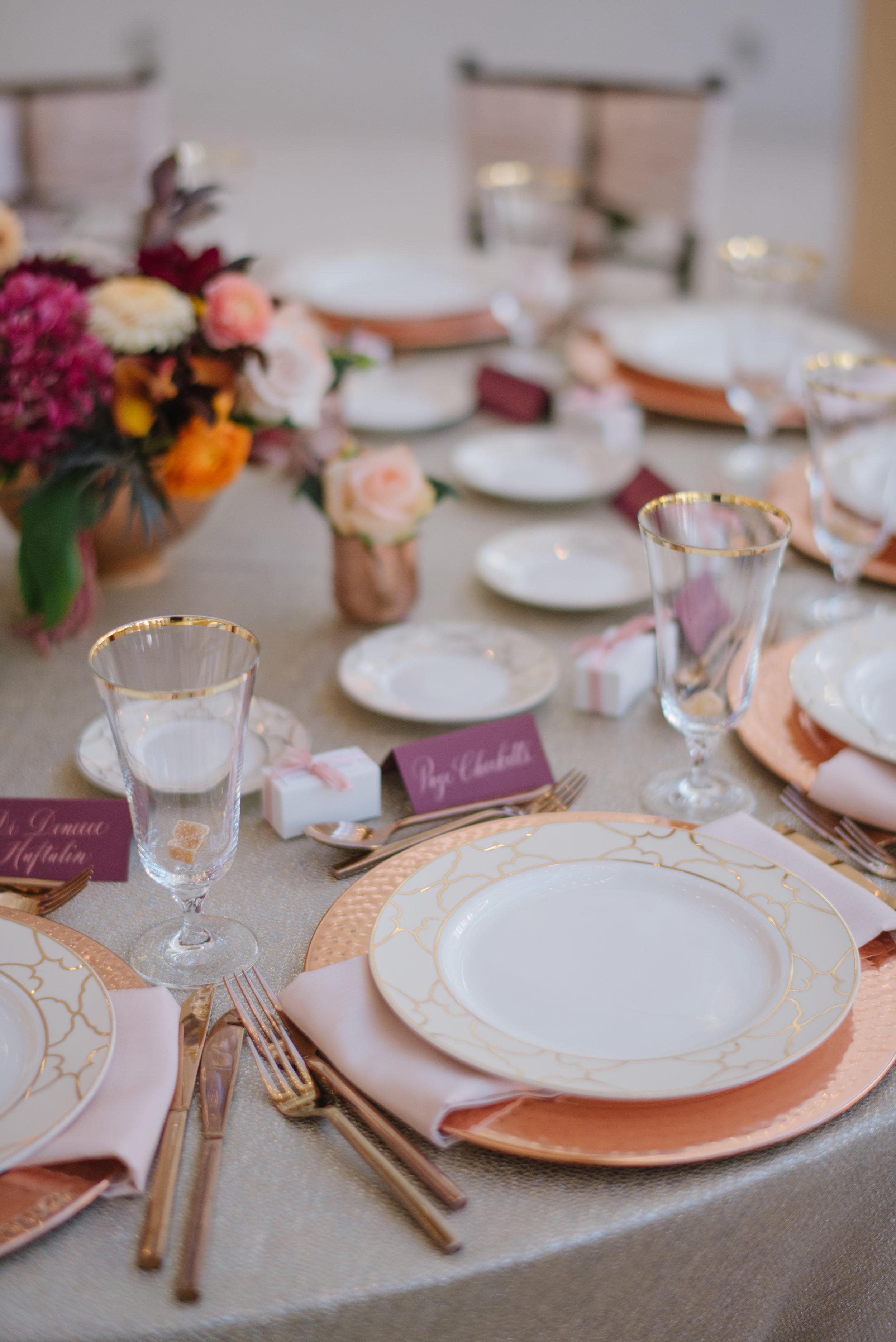 Michelle Leo Events Table Design